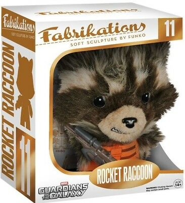 Guardians of the Galaxy Rocket Raccoon Fabrikations Plush Brand New