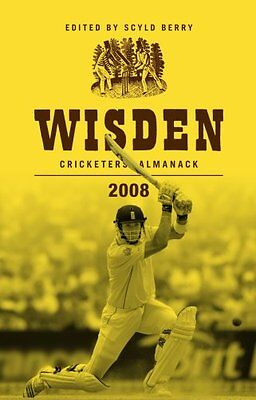 Wisden cricketes Almanach 2008__BRANDNEU__Werbeantwort UK
