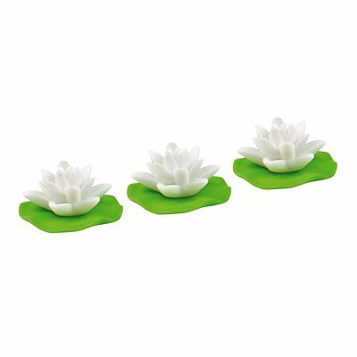 Heitech LED Water lilies Set Of 3 - Pond roses Plastic rose Lighting Ambience