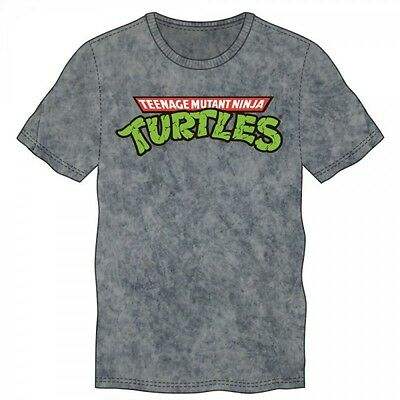 Teenage Mutant Ninja Turtles Logo Charcoal Heather Tee XXLarge Brand New