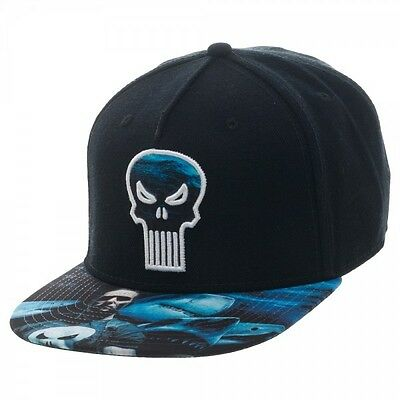 Marvel Punisher Sublimated Snapback Brand New