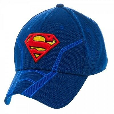 Superman Suit Up Inspired Active Flex Cap Brand New