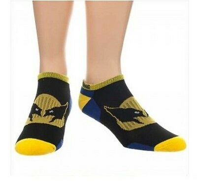 Marvel Performance Wolverine Ankle Socks Brand New
