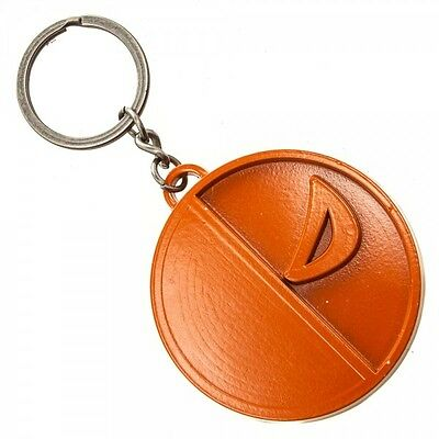 Jla Deathstroke Painted Metal Key Chain Brand New