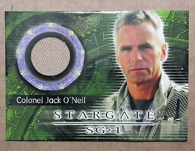 Stargate SG-1 Costume Card - C30 Richard Dean Anderson as Colonel Jack O'Neill