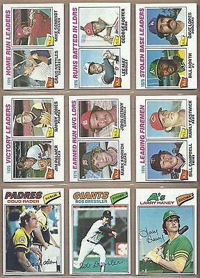 1977 77 Topps YOU PICK SINGLES FROM #1-660 ALL HIGH GRADE NEAR MINT OR BETTER