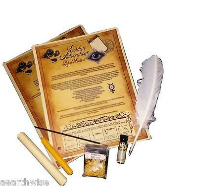 AUTOMATIC WRITING KIT Wicca Witch Pagan Goth RITUAL KIT