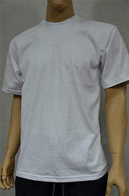 3d12722f 3 New Proclub Xl Heavy Weight T-Shirts White Plain Tee Pro Club Blank 3Pc