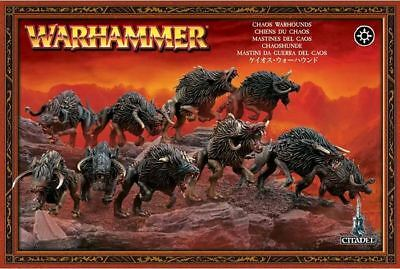 Slaves To Darkness - Chaos Warhounds Warhammer Age of Sigmar
