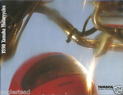 Motorcycle Brochure - Yamaha - Product Line Overview - 1990  (DC437)