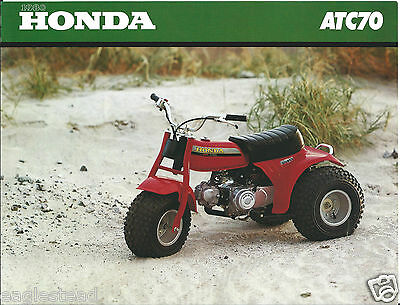 ATV Brochure - Honda - ATC70 - Child Size Mini - 1980  (V27)