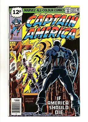 Captain America Vol 1 No 231 Mar 1979 (VFN+ to NM-) Bronze Age (1970 - 1979)