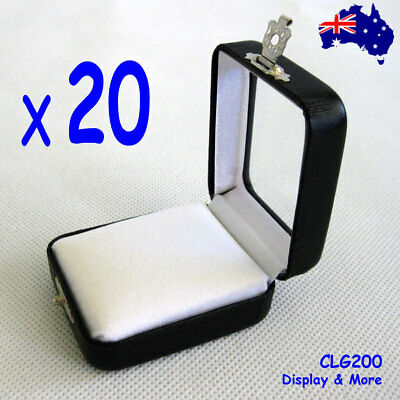 RELIABLE 20X Gemstone Opal Storage Case-5x6cm-Jewellery Gift Box | AUSSIE Seller