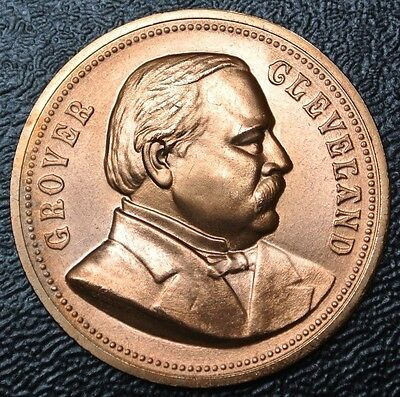 GROVER CLEVELAND Inauguration Presidential MEDAL - Nice