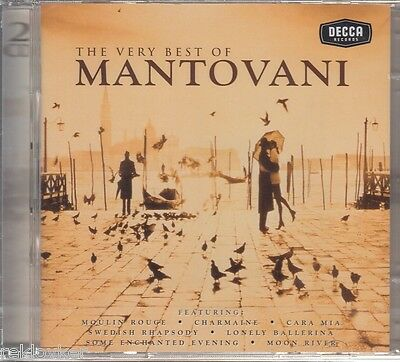 Mantovani Orchestra  /  The Very Best Of Mantovani (2 CDs, NEU!)