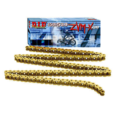 Yamaha FJ1200 86-91 DID Motorcycle ZVM-X X-Ring Drive Chain (530-110)