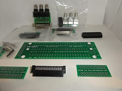 $100 VALUE.... EDU DAQ LAB HOOKUP KIT 68 Pin .050Series FOR NATIONAL INSTRUMENTS