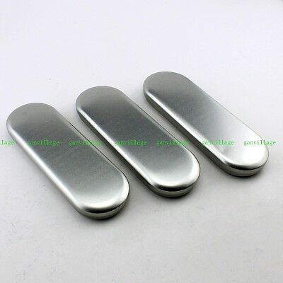 3pcs Storage Tin Plate Box Pencil Pen Case Glasses Holder Iron Metal Container