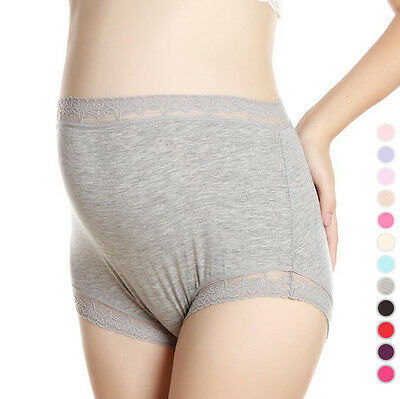 New Maternity Pregnant Women Panties Modal Cotton High Waist Briefs Underwear