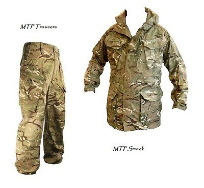 MTP PCS OFFER Windproof SMOCK PCS + TROUSERS - British Army/Military - Grade 1