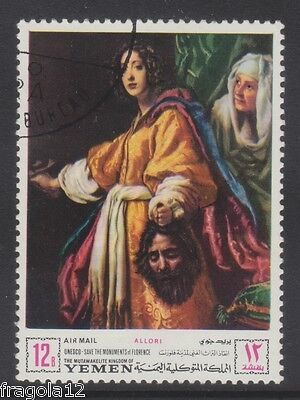 Kingdom North Yemen 1968 - Unesco Firenze - Cristofano Allori - B. 12 - Usato