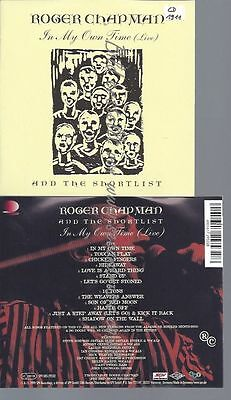 Cd--Live | Doppel-Cd/ Chapman,Roger--In My Own Time