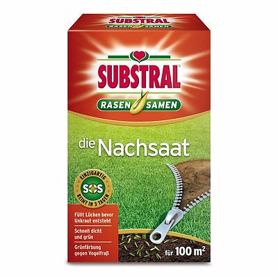 SUBSTRAL Lawn Seed The Reseeding 2 Kg - Seeds Lawn Lawn Seeds Seed Mix