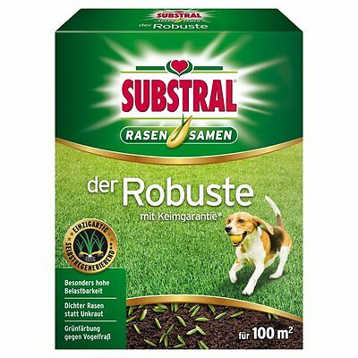 Substral Lawn seed The Robust - 2 kg - Seeds Lawn Lawn seeds Seed mix
