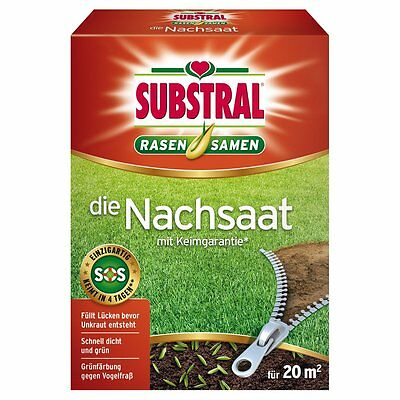 SUBSTRAL Lawn Seed The Reseeding 400 g - Seeds Lawn Lawn Seed Seed Mix
