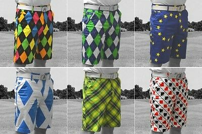 2016 ROYAL & AWESOME FUNKYX GOLFSHORTS (ALLE FARBEN) Laut und Trendy