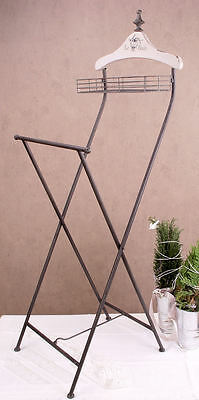 French Valet Stand Country House Style Coat Hanger Silent Servant