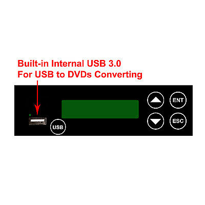 Internal USB to Disc Connection Added Component for Blu-Ray & DVD CD Duplicator