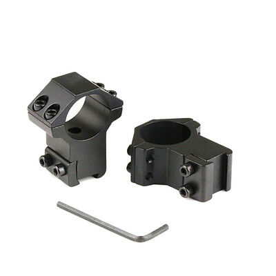 Profile Rifle Scope Rings 25.4x11mm Dovetail Rail Dovetail Mount Weaver EF