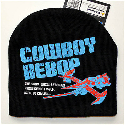 Cowboy Bebop Swordfish II 2 Anime Costume Cosplay Ski Beanie Cap Hat OFFICIAL