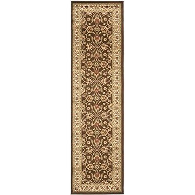 Safavieh Lyndhurst Traditional Oriental Brown/ Ivory Rug (2'3 x 12')