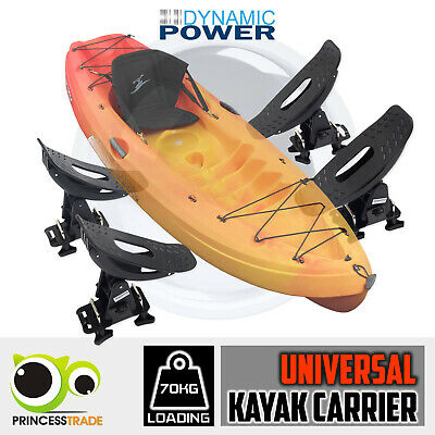 Kayak Holder Carrier Universal Saddle Watercraft Roof Rack Arm Canoe Car Loader