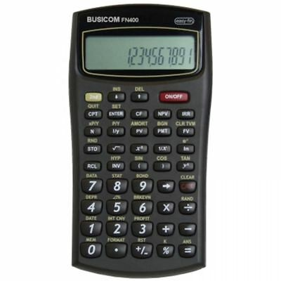Busicom Scientific Calculator Big Display Financial Business Office School FN400