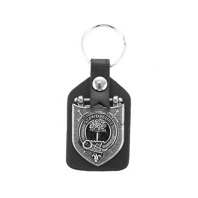 Heritage of Scotland Pewter Scottish Clan Crested Keyring - Names A to G