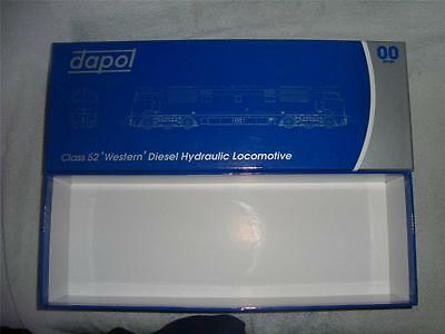 Dapol Oo Blue Empty Box - Useful For Storage Ideas - Originally From A Western