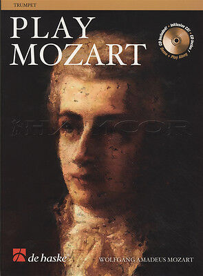 Play Mozart for Trumpet Sheet Music Book with CD Play-Along Wolfgang Amadeus