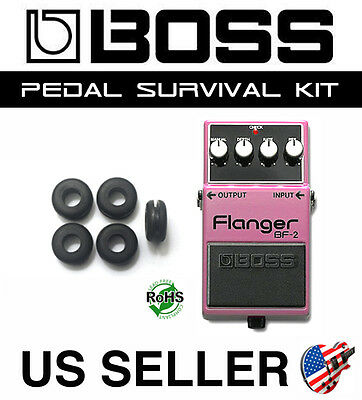 Boss Bf-2 Flanger Survival Kit Guitar Pedal Grommet Rubber O-Ring Set Of 5