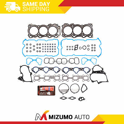 Fit Head Gasket Set Fit 09-12 Nissan Altima Maxima Murano Quest 3.5L DOHC VQ35DE