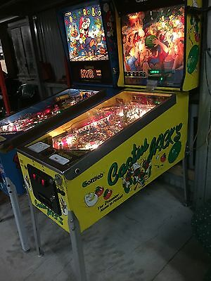 Collectors Arcade Pinball Pin Ball Machine Cactus Jacks Jack Gottlieb Pick up