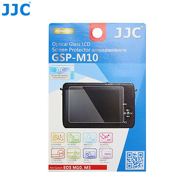 JJC Ultra-thin Tempered Glass Camera LCD Screen Protector For CANON EOS M10,M3