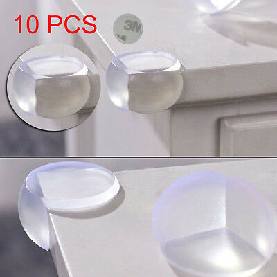 10Pcs Table Glass Corner Edge Protection Cover For Child Baby Silicone Protector