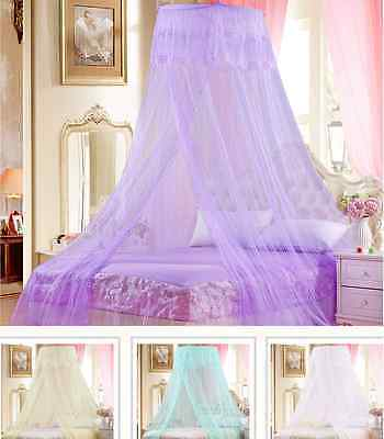 Mosquito Net Bed Canopy Netting Curtain Dome Fly Midges Insect Stopping HT