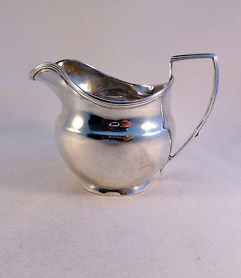 Georgian English Sterling London Ca 1805 Milk Jug