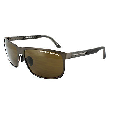 9c585609f2c982 PORSCHE DESIGN SUNGLASSES P8583 D Dark Brown   Grey Brown -  177.00 ...