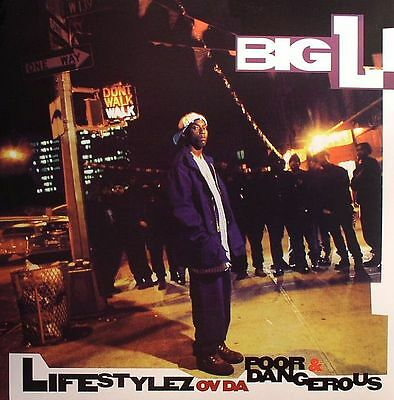 BIG L - Lifestylez Ov Da Poor & Dangerous - Vinyl (2xLP)