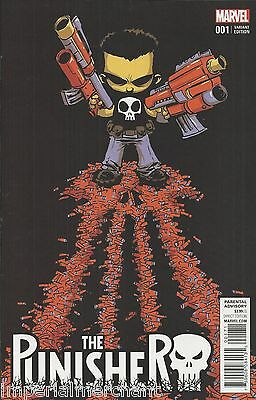 Marvel Punisher comic issue 1 Limited Skottie Young variant